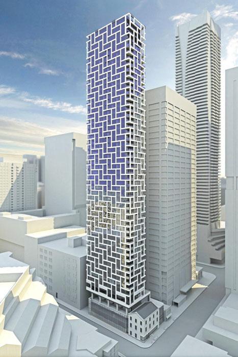 Adagio Condos Building Fullview Menkes Developments