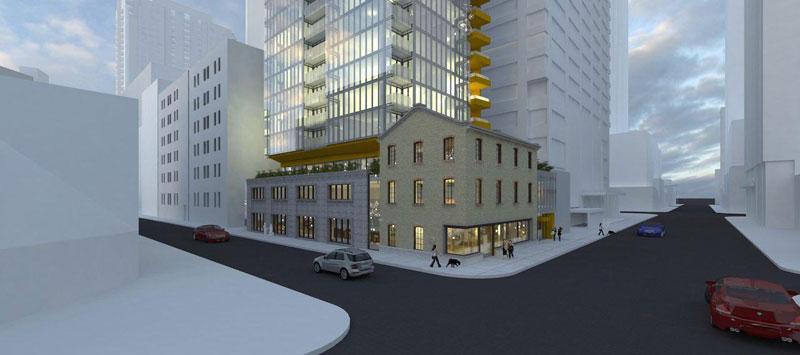 Adagio Condos Building Streetview Menkes Developments