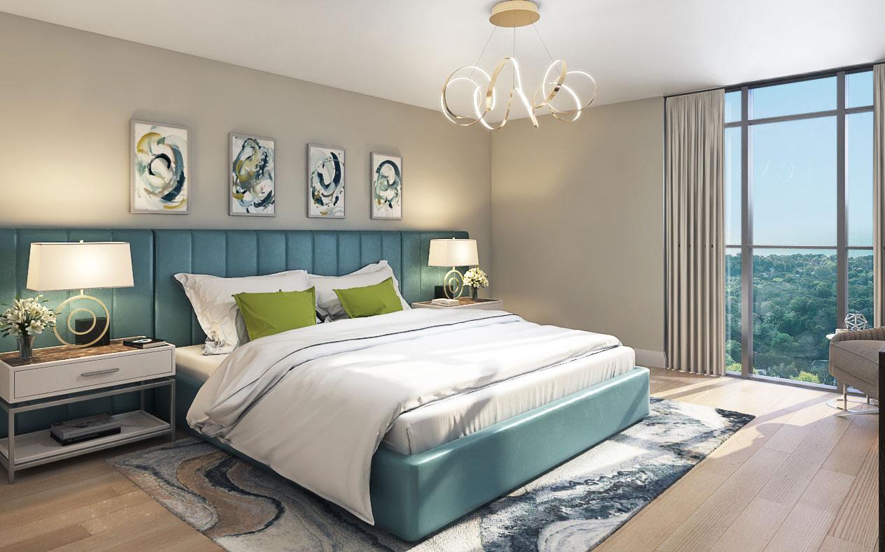 FourMe Condos Toronto Bedroom Suite