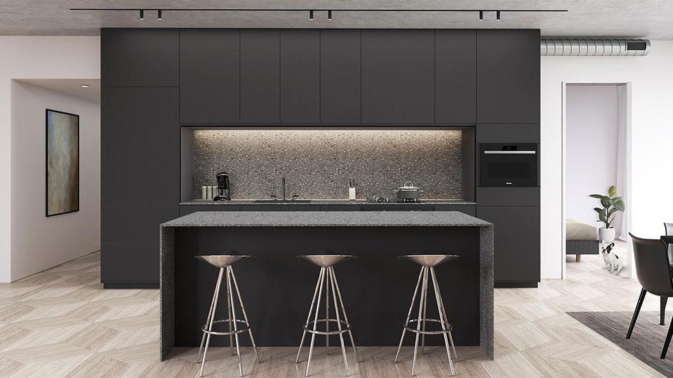 Kitchen-In-Toronto-Condo