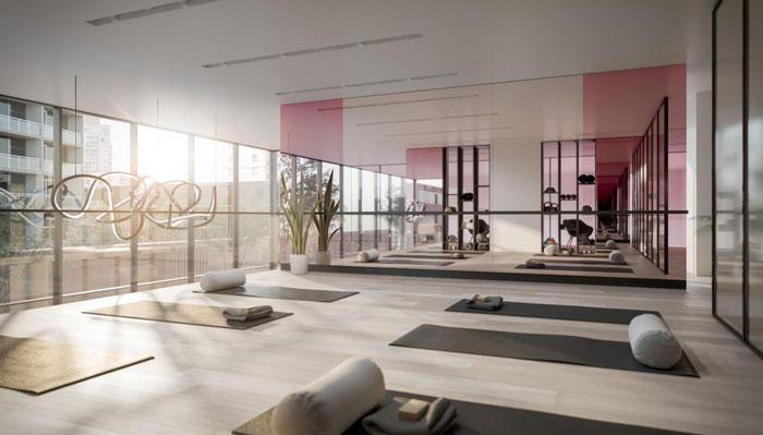 Untitled Condos Toronto Yoga Room