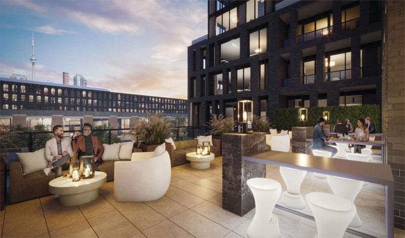 XO2 Condos Outdoor Terrace