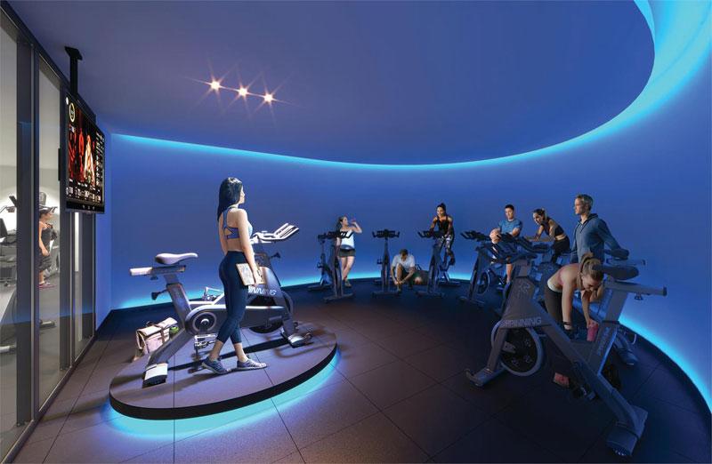 XO2 Condos Spin Room