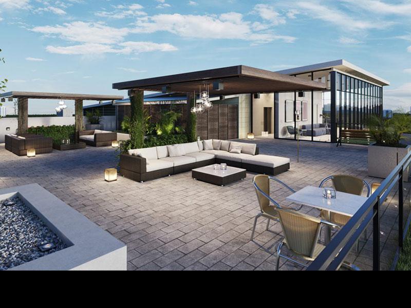 Rooftop Terrace Yorkwood Condos