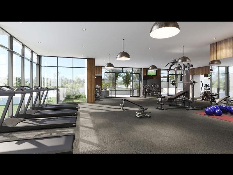 Yorkwood Condos Fitness Room