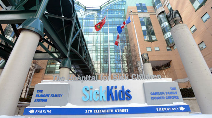 Downtown Sick Kids Hospital