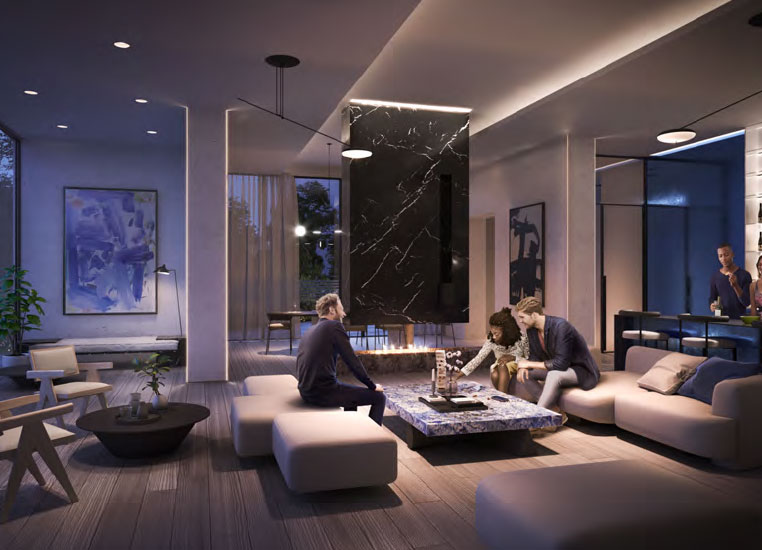 Artform Condos indoor amenities