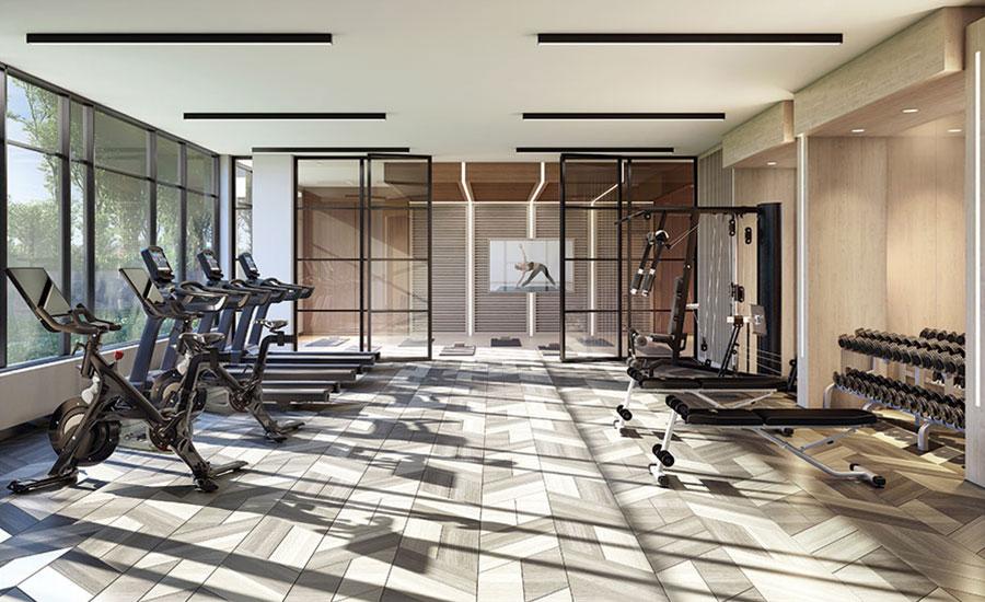 Butler Condos Gym