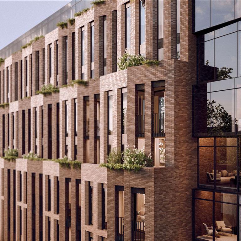 Leaside Commons Gairloch Rendering Balcony