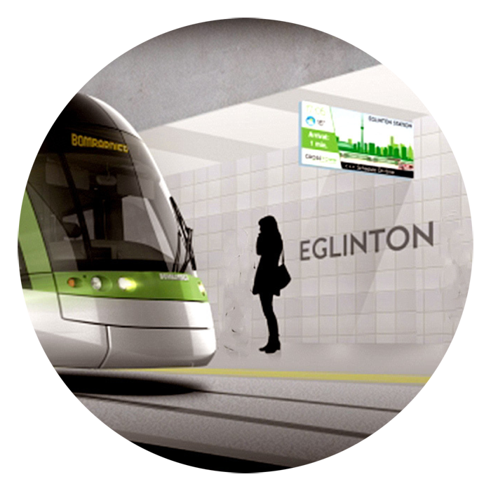 Transit Oriented Location for Leaside Common Condos