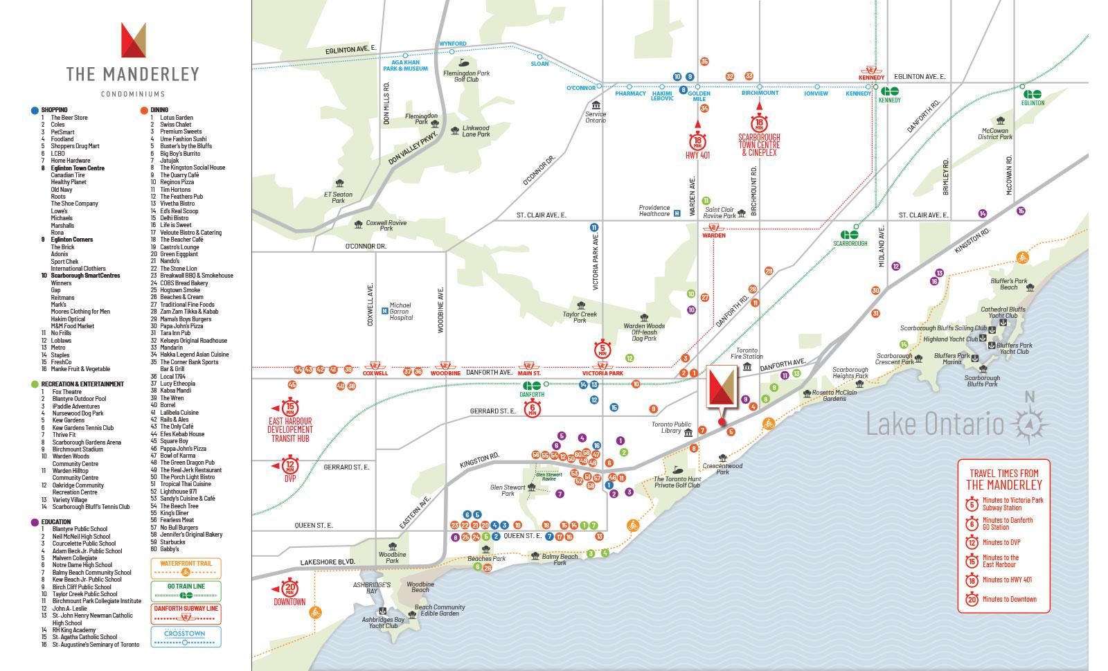 Manderley Map