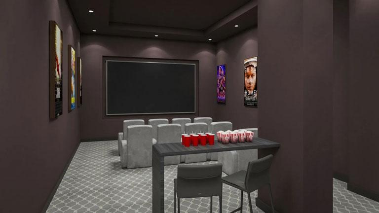 Nahid Kennedy Theatre Room