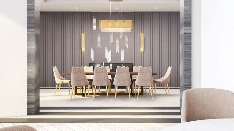 Nahid Kennedy Private Dining ARea