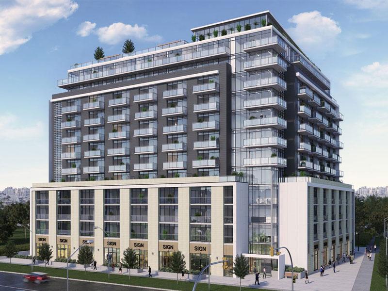 Yorkwoods Condos Building Toronto