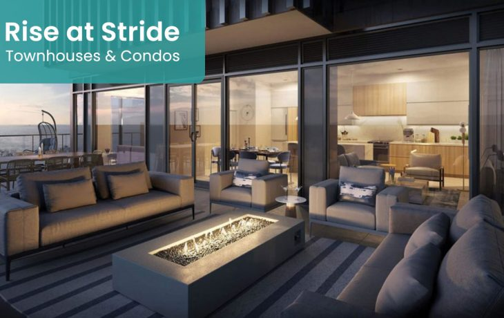 Rise at stride Townhomes Condos